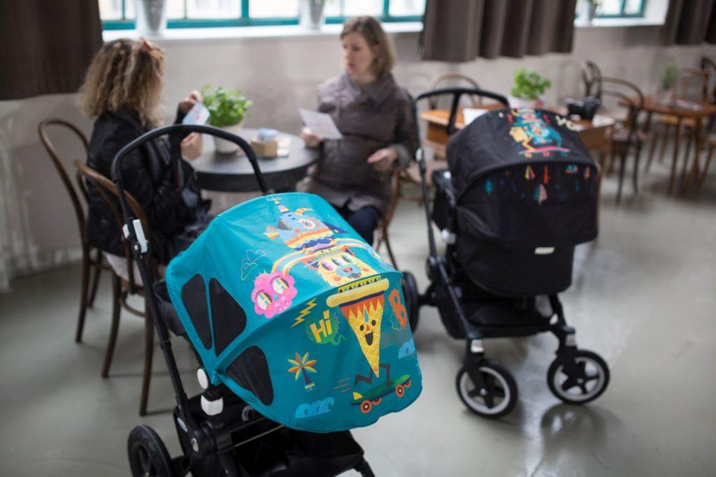 Hľadáte niečo výnimočné? Holandská značka prémiových kočíkov Bugaboo prichádza každý rok so zaujímavou spoluprácou s dizajnérmi a umelcami. Na obrázku model Niark1.